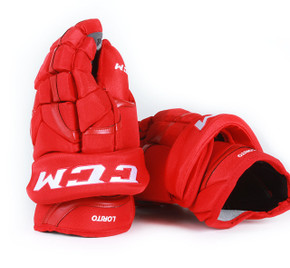 "13"" CCM HG12XP Gloves - Matt Lorito Detroit Red Wings"