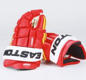 "14"" Easton 4 Roll Pro NRW Gloves - Matt Stajan Calgary Flames"