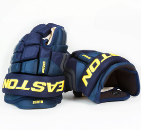 "13"" Easton 4 Roll Pro STD Gloves - Team Stock St. Louis Blues"