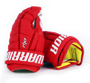 "13"" Warrior Dynasty AX1 Pro Gloves - Team Stock Detroit Red Wings"
