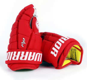 "13"" Warrior Dynasty AX1 Pro Gloves - Team Stock Carolina Hurricanes"