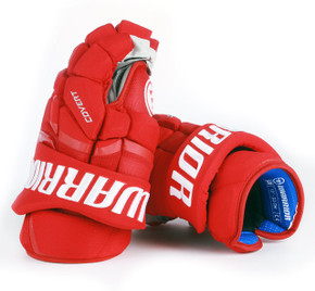 "13"" Warrior Covert QRL Pro Gloves - Team Stock Detroit Red Wings"