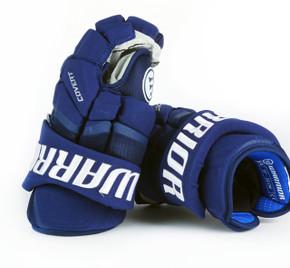 """13"""" Warrior Covert QRL Pro Gloves - Team Stock Vancouver Canucks"""