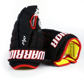 "13"" Warrior Dynasty AX1 Pro Gloves - Team Stock Chicago Blackhawks"