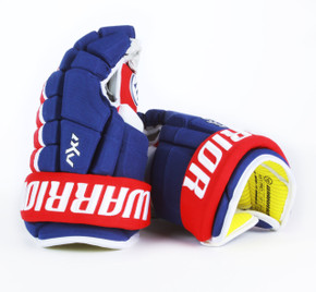 "13"" Warrior Dynasty AX1 Pro Gloves - Team Stock Montreal Canadiens"