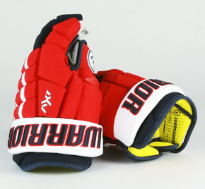 "13"" Warrior Dynasty AX1 Pro Gloves - Team Stock Washington Capitals"