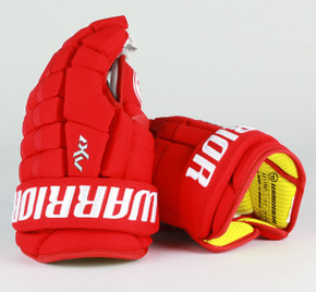 """13.5"""" Warrior Dynasty AX1 Pro Gloves - Team Stock Detroit Red Wings"""