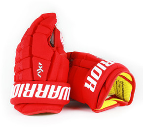 "13"" Warrior Dynasty AX1 Pro Gloves - Team Stock Detroit Red Wings #2"