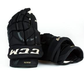 """14"""" CCM HG12 Gloves - Matt Irwin Boston Bruins"""