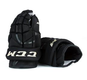 """14"""" CCM HG12 Gloves - Team Stock Boston Bruins"""