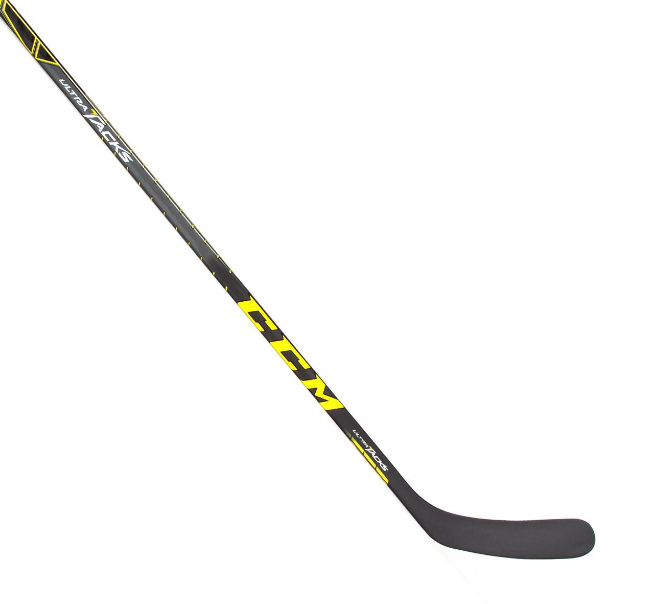 Left Adam Erne Ultra Tacks 80 Flex Stick 2 Pro Stock Hockey