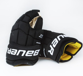 """14"""" Bauer Total One MX3 Gloves - TJ Brodie Calgary Flames"""