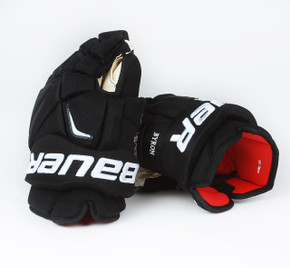 "14"" Bauer Vapor APX 2 Pro Gloves - Paul Byron Calgary Flames #2"
