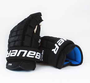 "15"" Bauer Nexus 1000 Gloves - Brandon Bollig Calgary Flames #3"