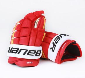 "14"" Easton 4 Roll Pro NRW Gloves - Matt Stajan Calgary Flames #3"