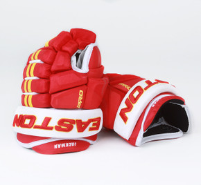 "13"" Easton 4 Roll Pro STD Gloves - Tim Jackman Calgary Flames"