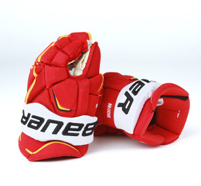"14"" Bauer Vapor APX 2 Pro Gloves - TJ Brodie Calgary Flames"