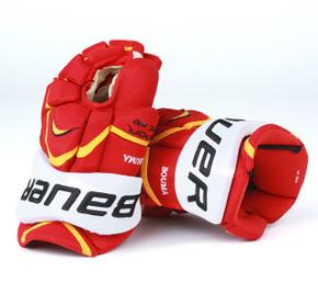 """14"""" Bauer Vapor APX Pro Gloves - Lance Bouma Calgary Flames"""