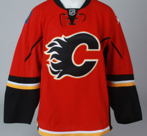 Game Jersey - Calgary Flames - Red Reebok Size 56