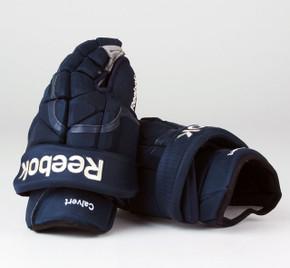 """14"""" Reebok 11KPXP Gloves - Matt Calvert Columbus Blue Jackets"""