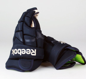 "15"" Reebok HG10KN Gloves - Team Stock Columbus Blue Jackets #3"