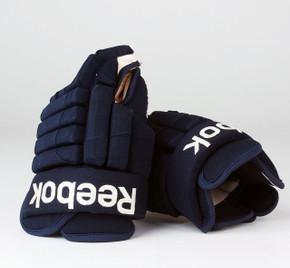 "14"" Reebok HGSTJR Gloves - Team Stock Columbus Blue Jackets #2"