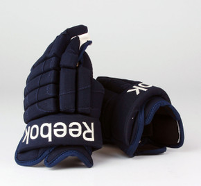 "14"" Reebok HGSTJR Gloves - Team Stock Columbus Blue Jackets #3"