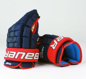 "14"" Bauer Nexus 1000 Gloves - Cody Goloubef Columbus Blue Jackets"