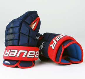 "14"" Bauer Nexus 1N Gloves - Team Stock Columbus Blue Jackets"
