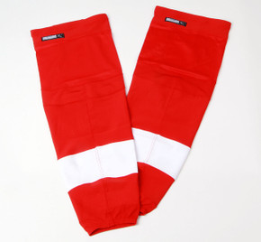Game Sock - Detroit Red Wings - Red Reebok Size XL+ #3