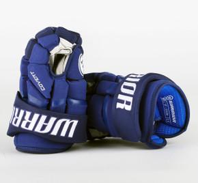 """13"""" Warrior Covert QRL Pro Gloves - Team Stock Vancouver Canucks #2"""