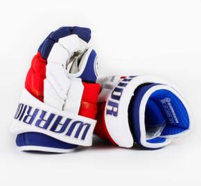 """13"""" Warrior Covert QRL Pro Gloves - Team Stock New York Rangers #2"""