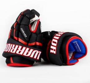 """13"""" Warrior Covert QRL Pro Gloves - Team Stock Chicago Blackhawks #2"""