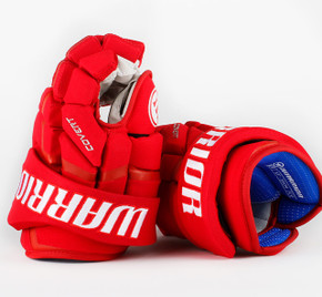 "13"" Warrior Covert QRL Pro Gloves - Team Stock Detroit Red Wings #2"