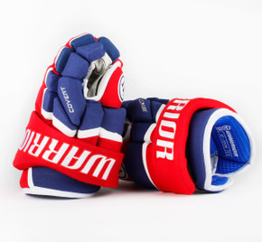 "13"" Warrior Covert QRL Pro Gloves - Team Stock Montreal Canadiens #2"