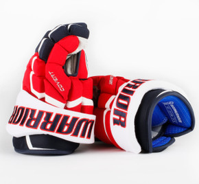 "13"" Warrior Covert QRL Pro Gloves - Team Stock Washington Capitals #2"