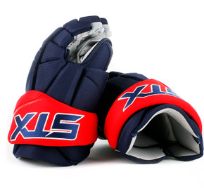 "15"" STX Stallion 500 Gloves - Team Stock Columbus Blue Jackets #2"