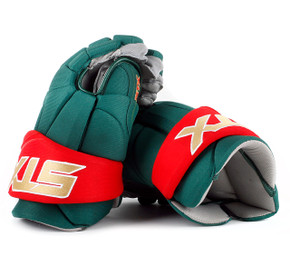 "15"" STX Stallion 500 Gloves - Team Stock Minnesota Wild #2"