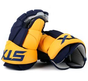 """15"""" STX Stallion 500 Gloves - Team Stock Nashville Predators"""