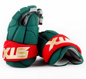 """14"""" STX Stallion 500 Gloves - Team Stock Minnesota Wild #2"""