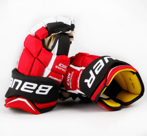 "14"" Bauer Total One MX3 Gloves - Andy Greene New Jersey Devils"