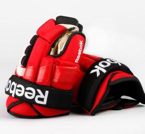 "13.5"" Reebok 852T Gloves - Team Stock New Jersey Devils"