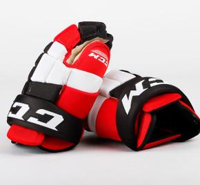 "13.5"" CCM HG4RRP Gloves - Team Stock New Jersey Devils"
