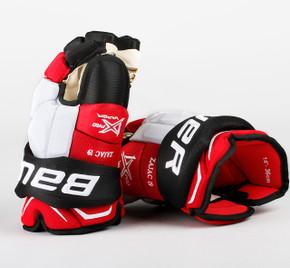 """14"""" Bauer Vapor 1X  Gloves - Travis Zajac New Jersey Devils"""