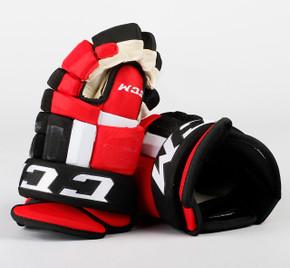 "14"" CCM HG97XP Gloves - Team Stock New Jersey Devils"