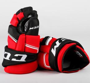 "14"" CCM HGQL Gloves - Team Stock New Jersey Devils"