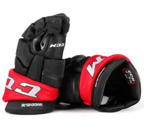 """14"""" CCM HGQL Gloves - Chris VandeVelde Ottawa Senators"""