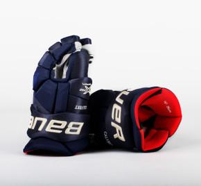 """14"""" Bauer Vapor 1X Pro Gloves - Matt Calvert Columbus Blue Jackets #2"""
