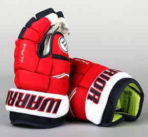 "13"" Warrior Alpha QX Gloves - Team Stock Washington Capitals"
