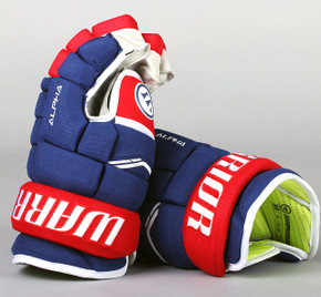 "13"" Warrior Alpha QX Gloves - Team Stock Montreal Canadiens"